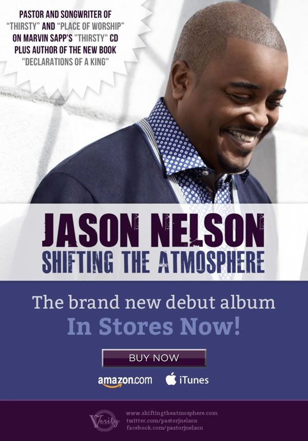 Jason Nelson's Debut Album Shifting The Atmosphere In Stores Now