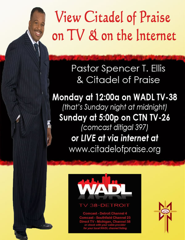 View Citadel of Praise on TV and Internet