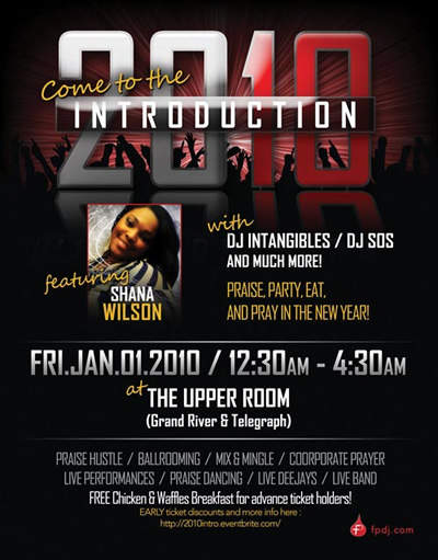 Come to the 2010 Introduction