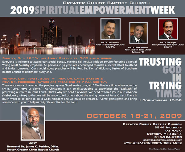 2009 Spiritual Empowerment Week