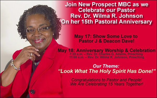 Pastor Anniversary Themes And Scriptures May 17, & 18...join in ...
