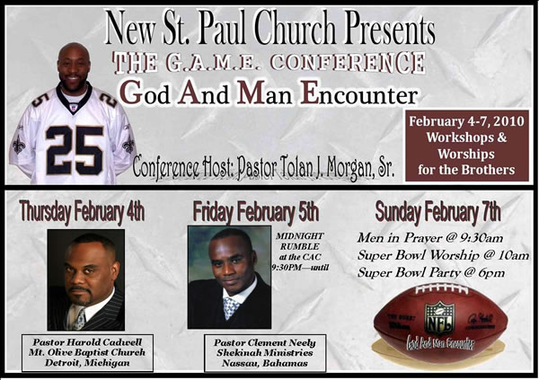 The God And Man Encounter Conference