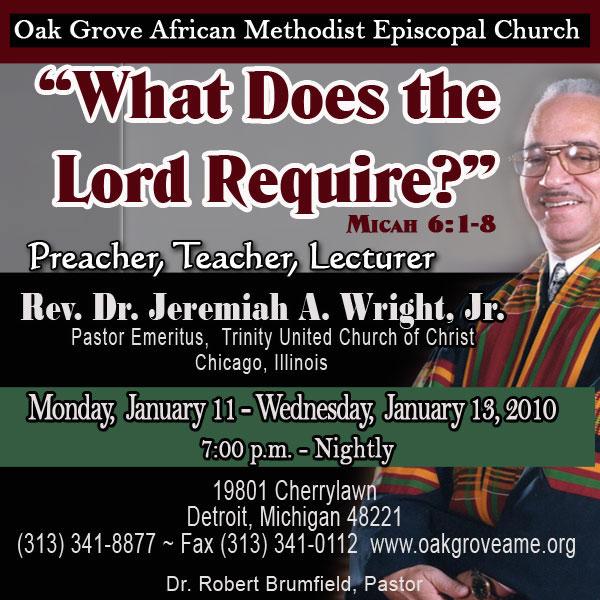 Dr. Jeremiah Wright