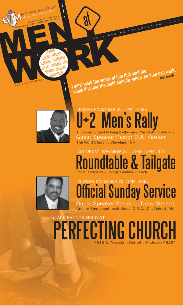 Men's Weekend 2009
