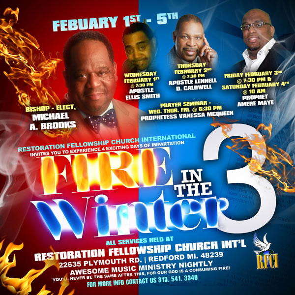 FEB 1-5: Join Bishop-Elect Michael Brooks & RFCI for Fire in the Winter 3