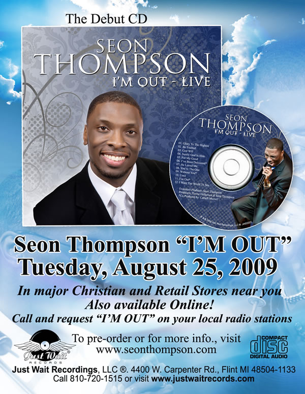 Order Seon Thompson's I'm Out Online
