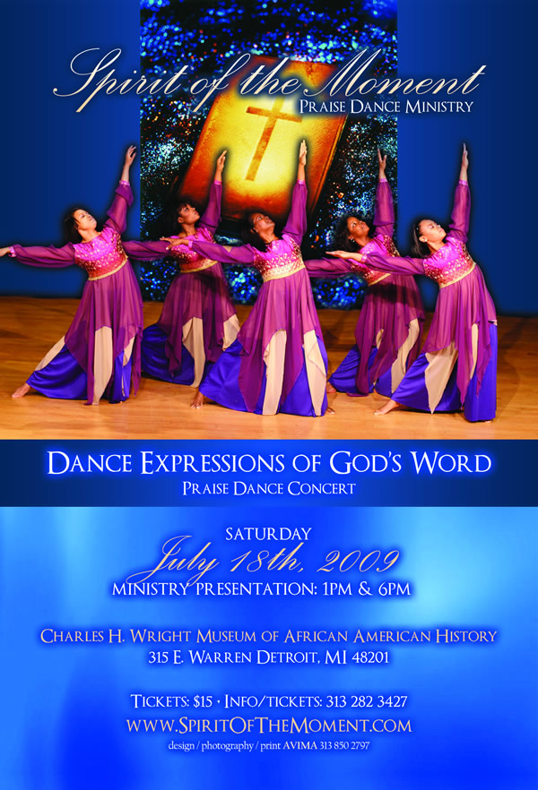 Spirit of the Moment Praise Dance Concert
