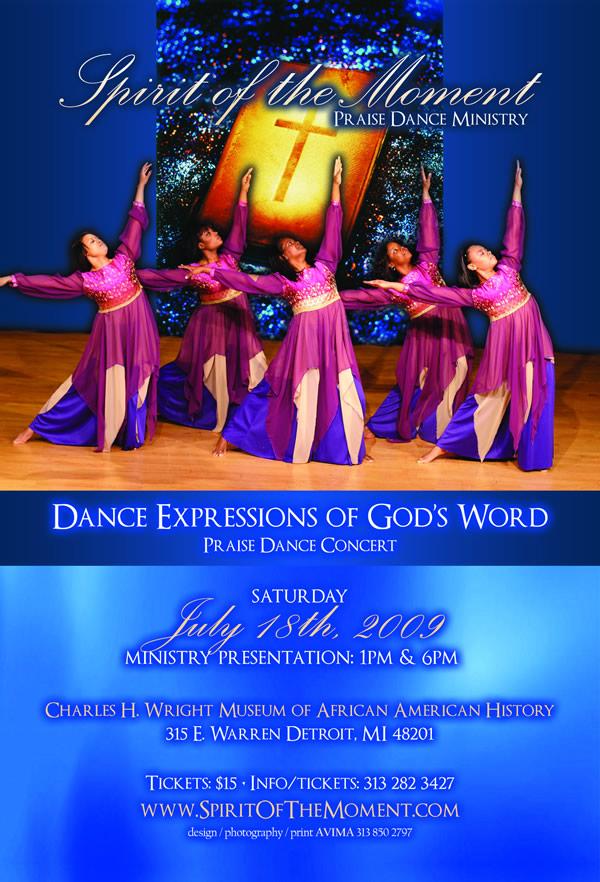 Spirit of the Moment Praise Dance Concert