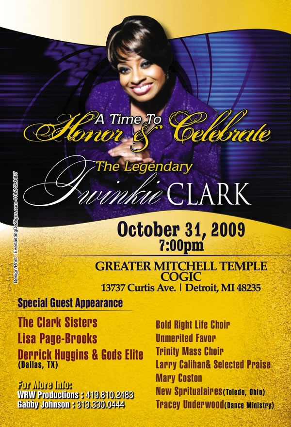 A Time to Honor and Celebrate Twinkie Clark