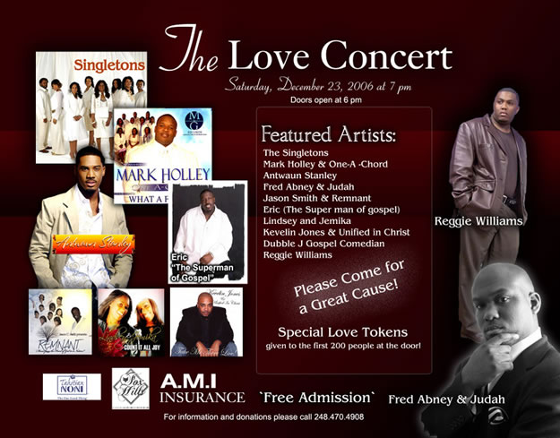 The Love Concert - Dec.23, 2006