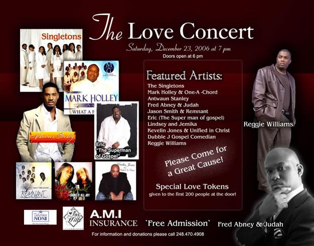 The Love Concert - Dec.23, 2006