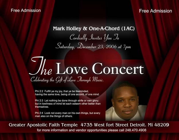 The Love Concert, Dec. 23, 2006