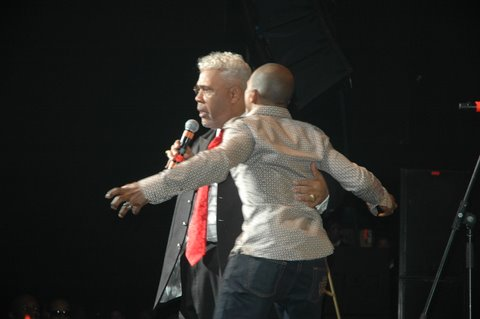 Rance Allen and Kirk Franklin
