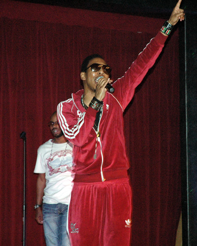 """Deitrick Haddon sings at """"Church On The Moon"""" CD Release Party"""