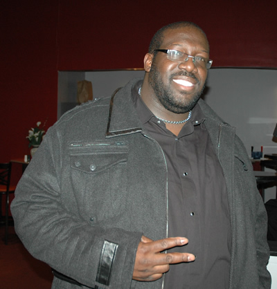 """""""The Superman of Gospel"""" Eric Deon Taylor (currently working on movie)"""