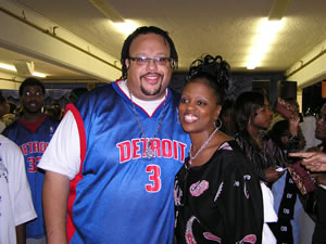 Fred Hammond and Renee'